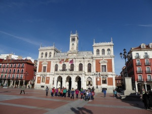 047. Valladolid. Plaza Mayor. Ayuntamiento