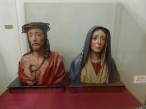 050. Valladolid. Museo Diocesano. Ecce Homo y Virgen dolorosa de Pedro de mena. 1673