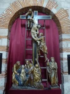 064. Valladolid. Museo Diocesano. Descendimiento. Juan Picardo (escultura) y Luís Vélez (policromía). 1558-1560.