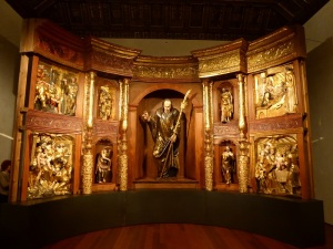 083. Valladolid. San Gregorio. Museo Nac. Escultura. Retablo de San Benito el Real