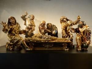 086. Valladolid. San Gregorio. Museo Nac. Escultura. Entierro de Cristo. Juan de Juni. 1541-1545