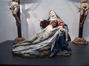 090. Valladolid. San Gregorio. Museo Nac. Escultura. Piedad. Gregorio Fernández. 1616. Procede de la iglesia de las Angustias
