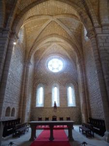092. Monasterio de Irantzu. Iglesia. Nave central