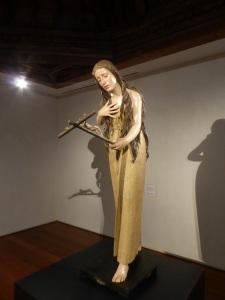 093. Valladolid. San Gregorio. Museo Nac. Escultura. Magdalena Penitente. Pedro de Mena. 1669