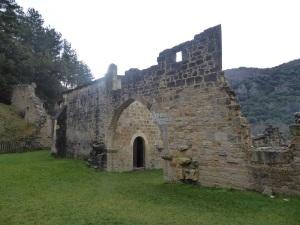 104. Monasterio de Irantzu. Ruinas del monasterio antiguo