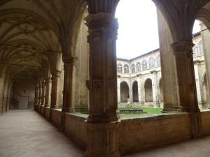 124. Monasterio de Irache. Claustro