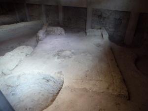 125. Medina del Campo. Castillo de la Mota. Exposición restos prehistóricos