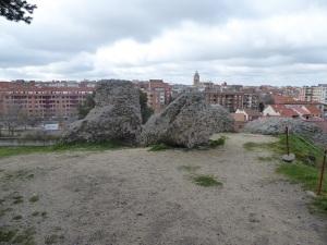 126. Medina del Campo. Castillo de la Mota. Restos murallas medievales