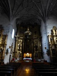 137. Puente la Reina. Iglesia de Santiago. Interior