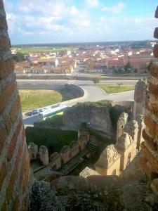 151. Castillo de Coca. Subiendo a la torre