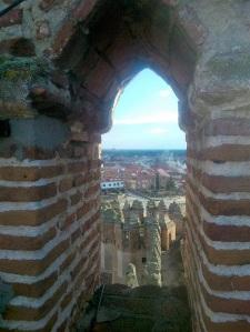154. Castillo de Coca. Subiendo a la torre