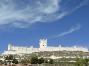 181d. Peñafiel. Castillo