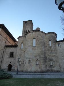 205. Monasterio de Leyre. Cabecera de la iglesia