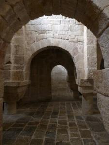 206. Monasterio de Leyre. Cripta