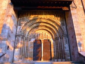 211. Monasterio de Leyre. Iglesia. Porta Speciosa