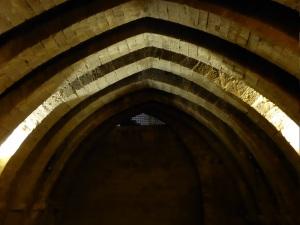 222. Palacio de Olite. Sala de los Arcos