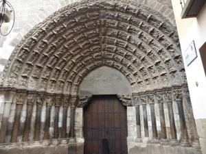 247. Tudela. Catedral. Portada del Juicio