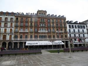 255. Pamplona. Plaza del Castillo
