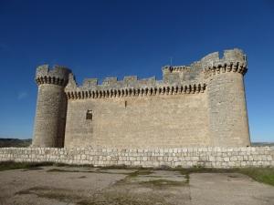 275. Villafuerte de Esgueva. Castillo de los Franco de Toledo