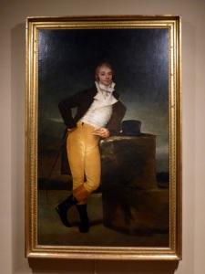 Retrato del marqués de San Adrián. Obra de Goya.