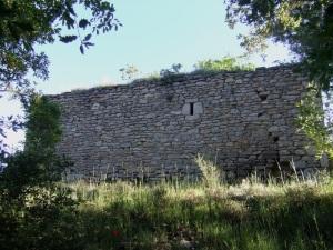 Santa Cruz. Muro sur