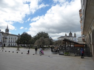 038. Lugo. Plaza Mayor