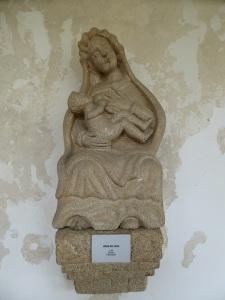 076. Lugo. Museo Provincial. Virgen de la Leche. XIX