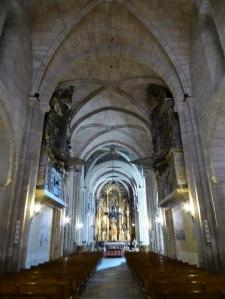 116. Mondoñedo. Catedral. Nave central