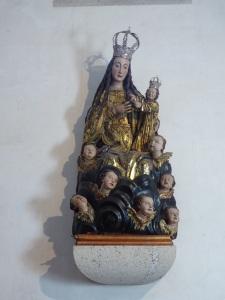 127. Mondoñedo. Catedral. Virgen inglesa. XVI