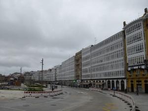 146. La Coruña. Galerías de la Marina