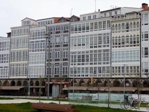 150. La Coruña. Galerías de la Marina
