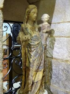 161b Virgen con Niño. XIV