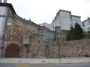 166. La Coruña. Antiguas murallas