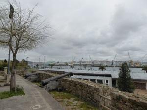 167. La Coruña. Antiguas murallas