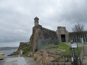171. La Coruña. Castillo de San Antón
