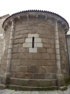 197. La Coruña. Santa María del Campo. Ábside