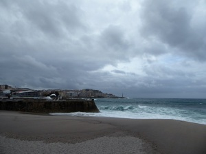 210. La Coruña. Playa de Riazor