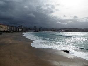 214. La Coruña. Playa de Riazor