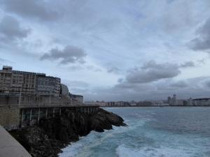 219. La Coruña. Playa las Amorosas