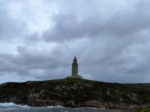 221. La Coruña. Torre de Hércules