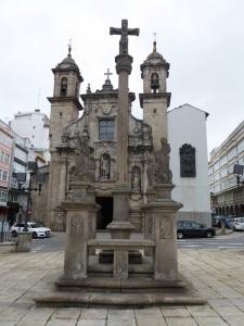 236. La Coruña. Cruceiro frente a San Jorge