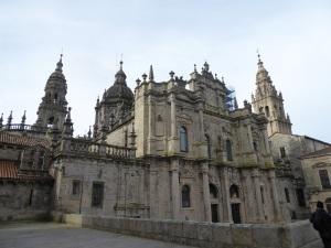 242. Santiago de Compostela. Catedral desde el norte