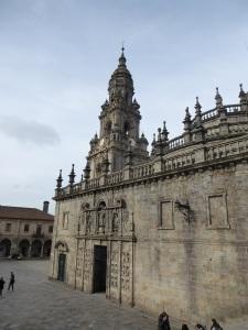 244. Santiago de Compostela. Plaza Quintana