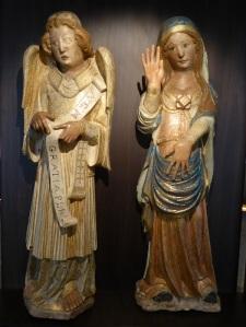 260. Santiago de Compostela. Museo catedral. Anunciación. Maestro Pero de Coimbra. Procede del trascoro