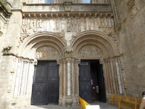 274. Santiago de Compostela. Portada de Platerías