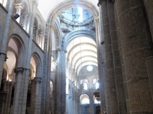 287. Santiago de Compostela. Misa de peregrinos. Botafumeiro