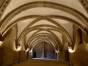 302. Santiago de Compostela. Palacio Gelmírez. Salón de banquetes