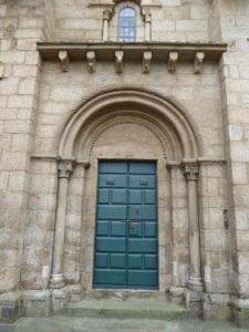 311. Santiago de Compostela. Nuestra Señora del Sar. Portada oeste