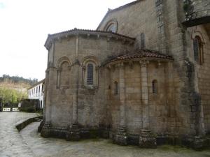 314. Santiago de Compostela. Nuestra Señora del Sar. Cabecera desde el norte