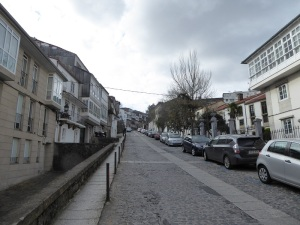 316. Santiago de Compostela. Regreso a Santiago desde el Sar por la dura cuesta